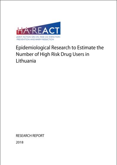 Epidemiologinis tyrimas žmonių, vartojančių narkotikus, Lietuvoje skaičiui nustatyti